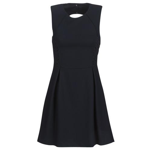 Clothing Women Short Dresses Ikks BN31035-549 Marine