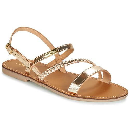 Shoes Women Sandals Les Tropéziennes par M Belarbi BATRESSE Gold