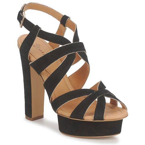 Shoes Women Sandals Eva Turner LIVIA Black
