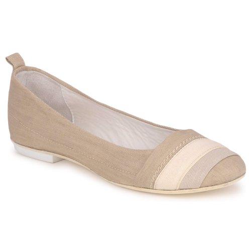 Shoes Women Flat shoes Marithé & Francois Girbaud BRUMES Beige