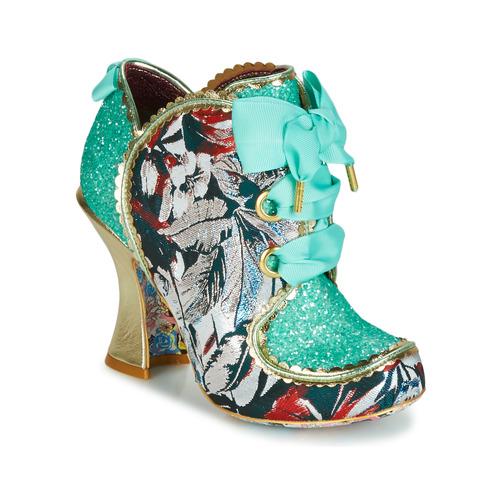 Shoes Women Heels Irregular Choice BARONESS Mint / Multi
