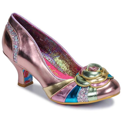 Shoes Women Heels Irregular Choice STUPENDA Pink
