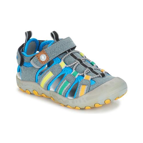 Shoes Boy Outdoor sandals Gioseppo 43008 Grey / Multicolour