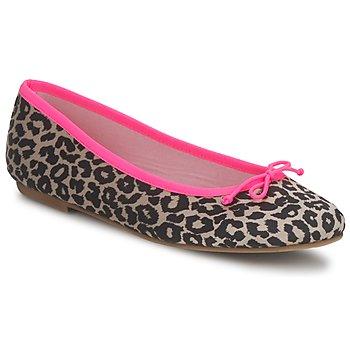 Shoes Women Flat shoes Cara NEONLEOPARD Leopard