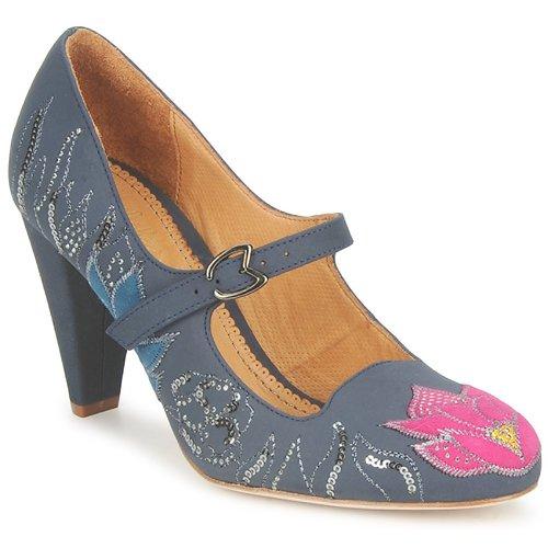 Shoes Women Heels Maloles CLOTHILDE Grey / Pink