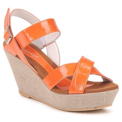 Shoes Women Sandals Regard RAGA Orange