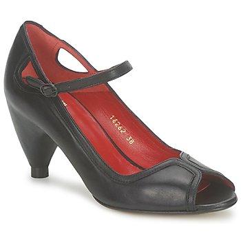 Shoes Women Heels Vialis POUPE Black