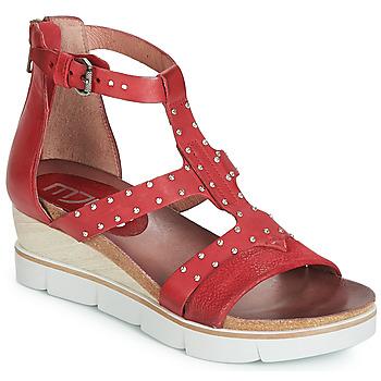 Shoes Women Sandals Mjus TAPASITA CLOU Red