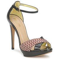 Shoes Women Sandals Pollini PA1638CC1V Cuoio-rosso