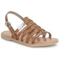 Shoes Girl Sandals Les Tropéziennes par M Belarbi MANGUE TAN