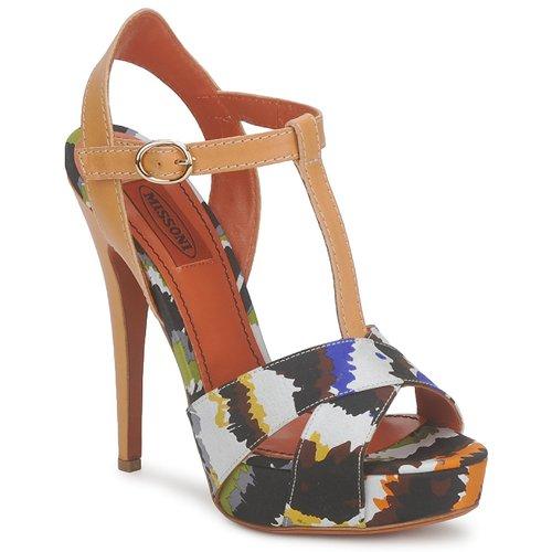 Shoes Women Sandals Missoni TM69 Multicolour