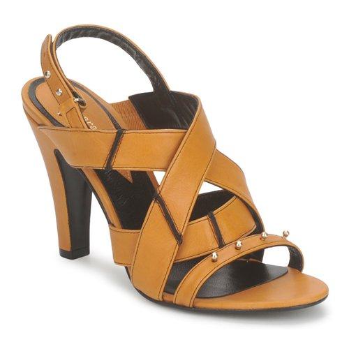 Shoes Women Sandals Karine Arabian DOLORES Safron-black