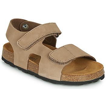 Shoes Boy Sandals André PEPIN Beige