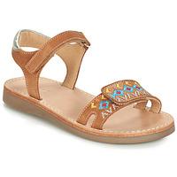 Shoes Boy Sandals André SEVILLE Camel