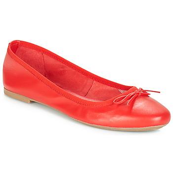 Shoes Women Flat shoes André PIETRA Red