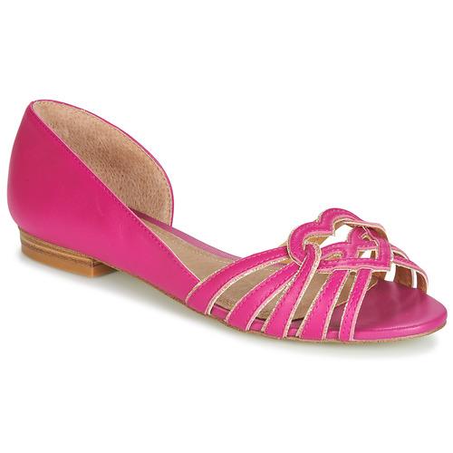 Shoes Women Flat shoes André CHRISTIE Pink