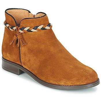 Shoes Women Mid boots André RAVIE Camel