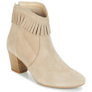 Shoes Women Ankle boots André RILAN Beige