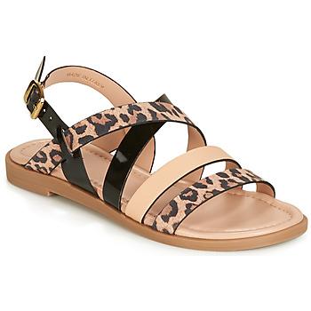 Shoes Women Sandals André RADJAH Leopard