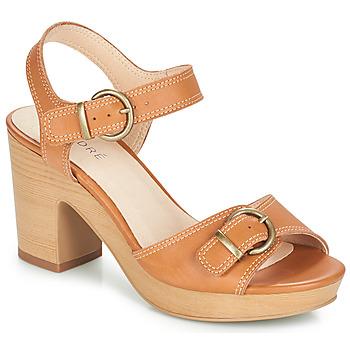 Shoes Women Sandals André ROULOTTE Camel