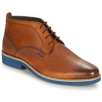 Shoes Men Mid boots André CLAPOTIS Cognac