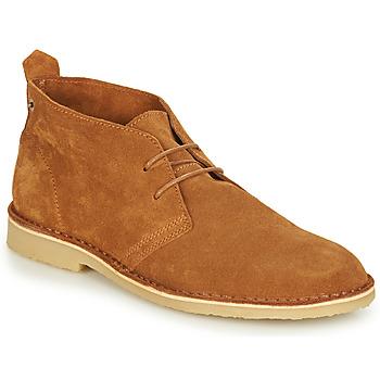Shoes Men Mid boots André BRICE Brown