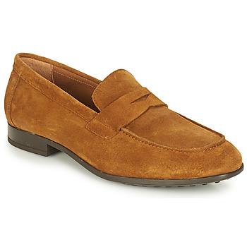 Shoes Men Loafers André PLATEAU Cognac