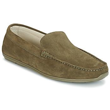 Shoes Men Loafers André BIGOLO Kaki