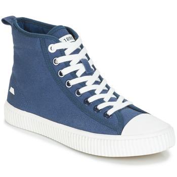 Shoes Men Hi top trainers André SUBWAY Blue