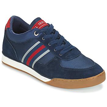 Shoes Men Low top trainers André SPEEDY Blue
