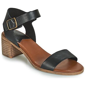 Shoes Women Sandals Kickers VOLOU Black