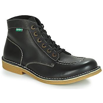 Shoes Men Mid boots Kickers KICKSTONER Black