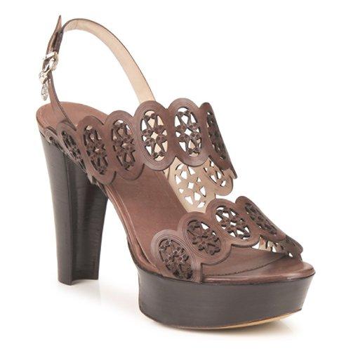 Shoes Women Sandals Fabi PANAMA Brown