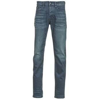 Clothing Men slim jeans Calvin Klein Jeans SLIM STRAIGHT Blue / Dark