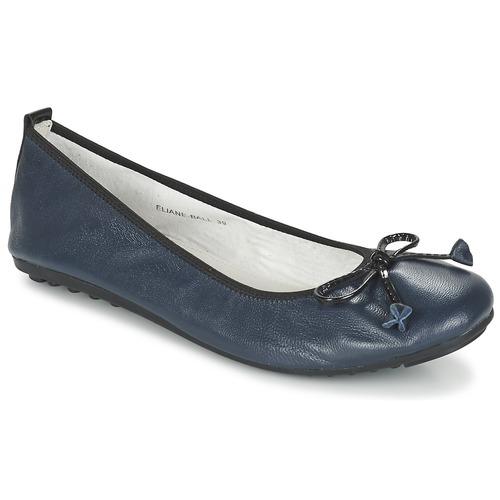Shoes Women Flat shoes Mac Douglas ELIANE Marine
