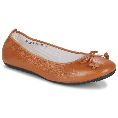 Shoes Women Flat shoes Mac Douglas ELIANE Chestnut