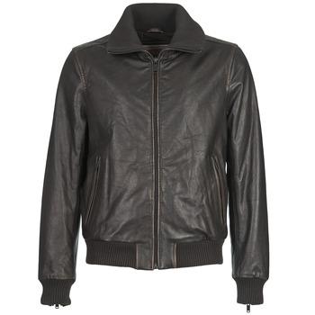 Clothing Men Leather jackets / Imitation leather Chevignon B-THIAGO Brown