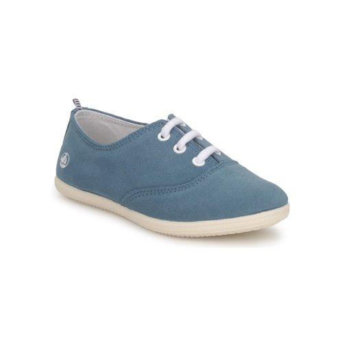 Shoes Children Low top trainers Petit Bateau KENJI GIRL Blue