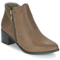 Shoes Women Ankle boots Les Petites Bombes JUDITH Kaki