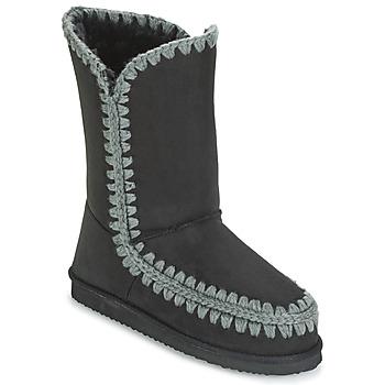 Shoes Women High boots LPB Shoes NATHALIE Black