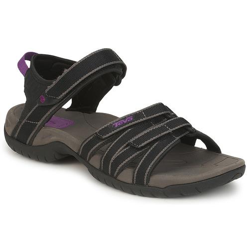 Shoes Women Sandals Teva TIRRA Black / Grey
