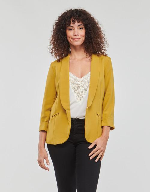 Clothing Women Jackets / Blazers Betty London IOUPA Yellow