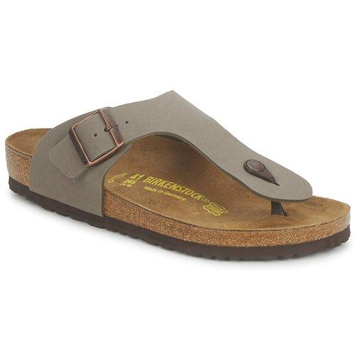 Shoes Men Flip flops Birkenstock RAMSES Grey