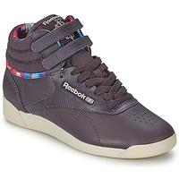 Shoes Women Hi top trainers Reebok Classic F/S HI GEO GRAPHICS Purple / White / Red