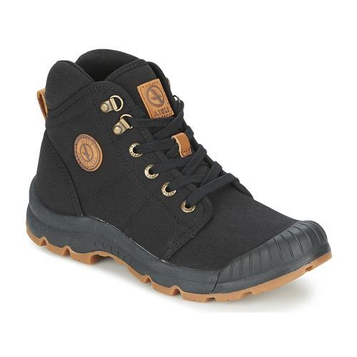 Shoes Men Hi top trainers Aigle TENERE LIGHT Black