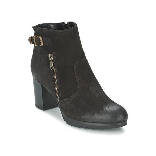 Shoes Women Ankle boots Samoa FINOLER Black