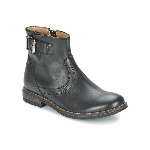 Shoes Girl Mid boots Shwik WACO BASE Black