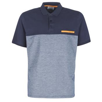 Clothing Men short-sleeved polo shirts Casual Attitude JACOBI Marine / Grey