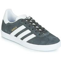 Shoes Children Low top trainers adidas Originals GAZELLE C Grey
