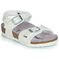 Shoes Girl Sandals Birkenstock RIO White